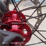 マウンテンバイクに使用する最上質のアルミ合金のハブ