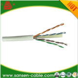 Cable de la red de cable de la corrección del cable de LAN CAT6 CAT6