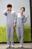 Unisex фуфайки 100%Cotton без клобука/пуловера Hoddies женщин