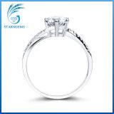 Monili cubici dell'anello dell'argento di Zirconia di prezzi di stile poco costoso di modo da vendere