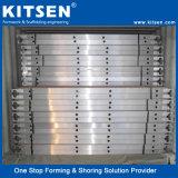Revestimientos de tablones de madera contrachapada de andamios de aluminio y de la junta de trabajo