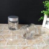 [100مل] مرطبان مستديرة زجاجيّة زجاجيّة مستحضر تجميل قشرة مرطبان لأنّ [سكينكر]