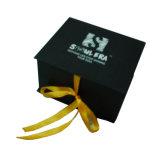 contenitore di regalo del cartone di spessore di 2mm con la chiusura personalizzata del nastro