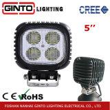 Lumière élevée de travail de 5 '' 40W DEL pour le véhicule d'ingénierie (GT1013-40W)