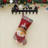 La Navidad de Santa de las decoraciones del partido del ornamento de la decoración de las medias de la Navidad almacena la calcetería