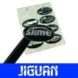 カスタム印刷の接着剤の別のサイズおよび形の明確なエポキシのステッカー