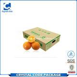 Wachs-überzogener wasserdichter verpackenfrucht-Papierkasten