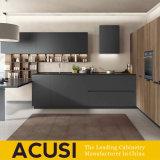 Cabinas de cocina modificadas para requisitos particulares venta al por mayor de la laca de Matt del estilo de Australia (ACS2-L172)