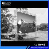 P9.875mm 높은 회색 가늠자 풀 컬러 옥외 LED 스크린 임대료