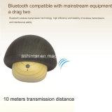 Seta de Mini Altavoz Altavoz inalámbrico Bluetooth de textura de madera