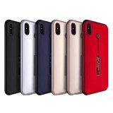 Impresión TPU+PC 2 del petróleo del teléfono móvil del sostenedor del anillo en 1 caso duro para iPhone8