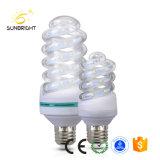 2018 Venda quente espiral completo Energy Saver E27 Lâmpadas LED