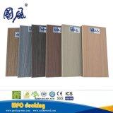 La couleur en bois imperméable à l'eau extérieure de double des graines Co-A expulsé le Decking composé en bois de WPC