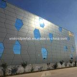 Gut gebildetes vorfabriziertes modulares Stahlhaus