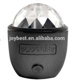 Disco de bolso portátil equipado com telefone bola de discoteca