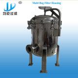 Custodia di filtro d'acciaio di purificazione di acqua dei sacchetti di Staninless multi