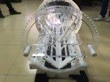 3D 고체는 서비스 플라스틱 시제품 부속을 만드는 CNC 기계로 가공 아BS를 작동한다