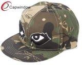 Snapback de coton de camouflage Hat avec 3D Embroidery Hat
