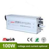 Cer RoHS IP67 Fahrer der Schaltungs-Stromversorgungen-100W DC12V LED