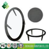 販売のためのカスタム家具のAshtreeフレームの黒のガラス表