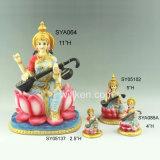 女神のDurgaインドのDevi Vaishno Polyresinのヒンズー教の彫像