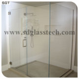 8-12 baixo milímetros de vidro endurecido do cerco da tela de chuveiro do ferro espaço livre