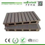 145x21mm WPC Plastik-WPC Bodenbelag/Deckingzusammengesetzter Decking, im Freien lamellenförmig angeordneter Bodenbelag (145H21-B)