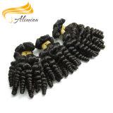 Tissage péruvien de cheveu de Remy de la Vierge classique la meilleur marché de cheveux humains