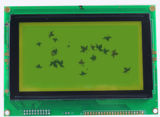 Caractères et dessins de module d'écran LCD de la Stn-Dent 128*64