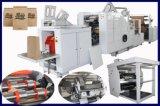 4 couleurs Impression Flexo Sac en papier de la machine La machine numéro de série de SBR