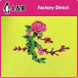Zona popolare del fiore del ricamo di nuovo disegno