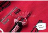¡Caliente estupendo! Orden francesa Hoodies capa ocasional gris de Flannelette y del terciopelo