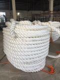 3 naves de los barcos de la cuerda de los soportes que amarran la cuerda del polietileno