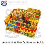 Красивый дизайн пластмассовых детей игровая площадка для установки внутри помещений