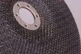 粉砕車輪(T27-117*22-8L-1R)のための研摩のガラス繊維の裏付けのパッド