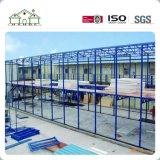 Fácil instalar e desmontar a casa pré-fabricada da construção de aço