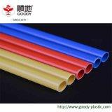 Tubulação plástica da luva de proteção do cabo do material de construção do PE