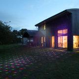 Luz laser solar, proyector solar, luz al aire libre solar