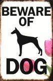 كلب إنذار معدنة قصدير إشارات