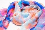 Customsports évente l'écharpe en soie de satin d'impression