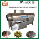 Automatisches Drehpinsel-Trommel-Wurzelgemüse und gepackte Beutel-Nahrungsmittelwaschmaschine