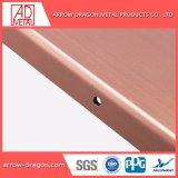 PVDFはカーテン・ウォールの正面のクラッディングのための不燃性金属のクラッディングパネルを耐火性にする