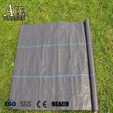 Stuoia di plastica della barriera del Weed dell'erba tessuta pp di controllo di Weed anti con il trattamento UV