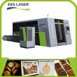 Hochgeschwindigkeits- und niedriger Preis-Faser-Laser-Ausschnitt-Maschine in Eks