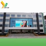 Panneau-réclame extérieur solaire polychrome de DEL TV