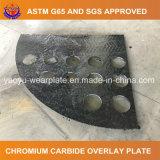 Хром клад пластину для горнодобывающей промышленности механизма со стороны