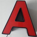 스테인리스 측 LED에 의하여 날조되는 편지 및 로고