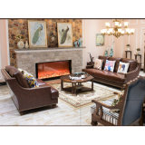 Sofá para simples moderna sala de estar Mobiliário (como849)