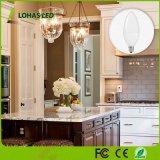Lampadina bassa della lampadina della lampadina 25W di E12 LED (3W) lampadari molli equivalenti di bianco 3000K dei piccoli per illuminazione del lampadario a bracci
