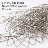 Hot Sale Butterfly Nickel les pinces à papier de bonne qualité